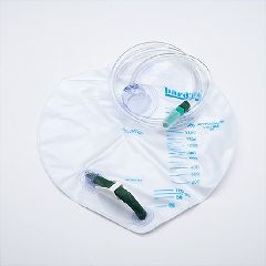 BARDIA Closed System Drain Bag - 2000ml - Sterile