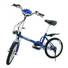 Shoprider Sunrunner Power Assist Folding Electric Bike