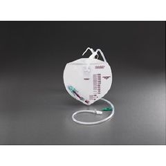 Invacare Supply Group Urine Drainage Bag with Bard Safety-Flow Outlet Device