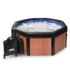Spa-N-A-Box Portable Spa/Hot Tub with Reversible Panels