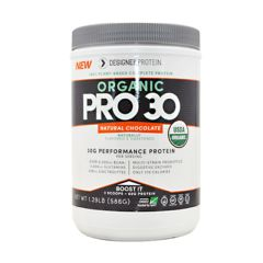 Designer Protein Organic Pro 30 - Natural Chocolate