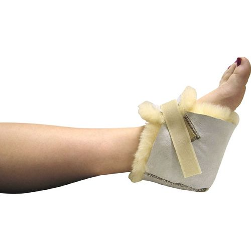 Sheepskin Ranch Medical Sheepskin Heel Protector - Each - Fits Any Size  Model 837 0040