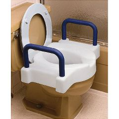 Extra Wide Tall-Ette Toilet Seat - Adds 4""