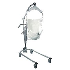 Drive Hydraulic Deluxe Chrome Plated Patient Lift with Six Point Cradle