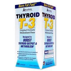 Thyroid T-3 T-3 Thyroid Booster - Boost Thyroid Output & Metabolism