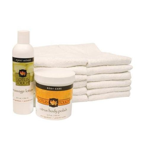 Lotus Touch Citrus Body Polish Treatment Package Model 280 0268