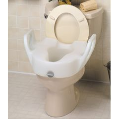 Bath Safe Lock-On Elevated Toilet Seats