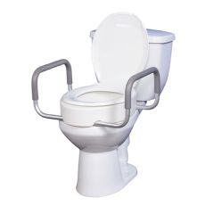 Toilet Seat Riser with Removable Arms - 3.5""