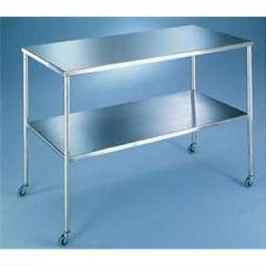"AliMed Blickman Howard Model Instrument Tables - 24"" x 72"" x 35"""