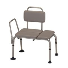 Nova Padded Transfer Bench with Back