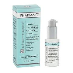 Pharmagel Pharma-C Serum Intensive Vitamin C Facial Treatment 1.0oz