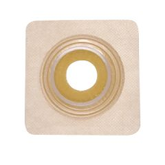 Ostomy Barrier Securi-T With Tape 1-1/4 Inch Flange 4 X 4 Inch