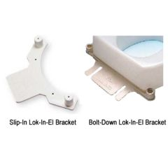 Lok-In-El Brackets for Tall-ette Toilet Seats