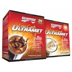 Champion Nutrition Ultramet Low Carb Van 60/Pk