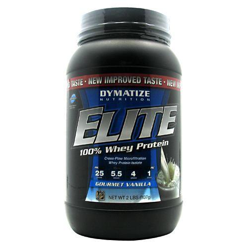 Elite Dymatize Elite 100% Whey Protein - Gourmet Vanilla