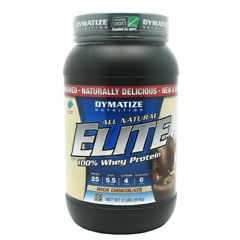 All Natural Elite Dymatize All Natural Elite Whey Protein Isolate - Rich Chocolate