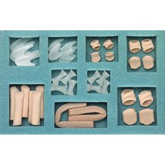 Silipos Digital Care Kit - Complete Set of Toe Spreaders, Pads & More