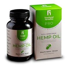 Functional Remedies Pro Full Spectrum Hemp Oil Capsule