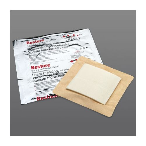Restore Adhesive Foam Dressing with Border