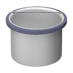 Satin Smooth beBare Removable Metal Insert Pot