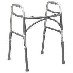 Drive Bariatric Folding Walker - 500 lb Capacity