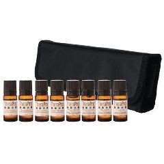 TheraPro Essential Oil Trial Package with Carry Case Brookstone