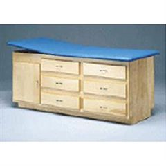 Bailey Manufacturing Bailey Cabinet Table With Drawers