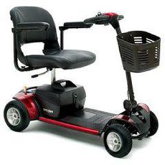 Go-Go Elite Traveller 4 Wheel Mobility Scooter | FDA Class II Medical Device*