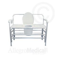 ConvaQuip Bariatric Bedside Commode - 1500 lb. Capacity