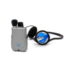 Williams Sound Llc Williams Sound Pocketalker Ultra Personal Sound Amplifier with Behind-the-Head Headphone H26