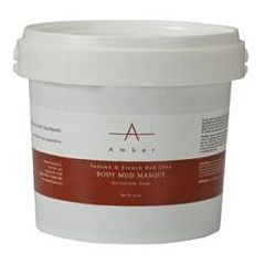 Amber Masque Mud Sedona & French Red Clay, 1/2Gal