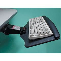 AliMed Jitterbug Keyboard Tray with Mouse Pad