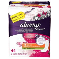 Always Discreet Very Light Long Incontinence Liner