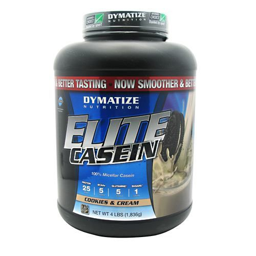 Elite Dymatize Elite Casein - Cookies & Cream Model 171 584242 01