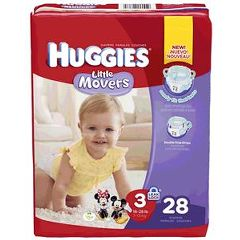 Kimberly Clark Professional HUGGIES Supreme Little Movers Diapers