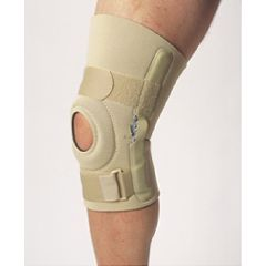 Neoprene Knee Brace - Hinged - 12""
