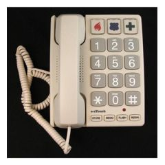 Cortelco Big Button Corded Phone