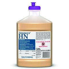 Invacare Supply Group Isosource High Nitrogen High Protein Nutritional Supplement