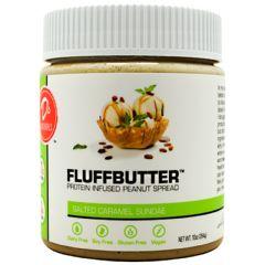 D's Naturals Fluffbutter - Salted Caramel Sundae