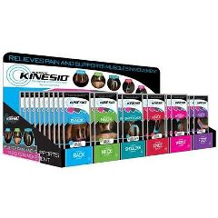 Kinesio Tex Pre-Cut Application Starter Set W/Display