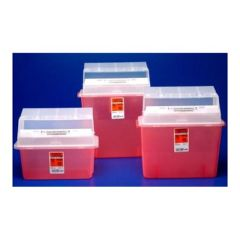 SharpSafety In Room Containers - Mailbox Style Lid - 2 qt.