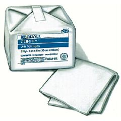 "Curity O-B Sponges - Cotton 2-ply, 4"" x 4"""