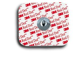 Red Dot 3M Red Dot Resting EKG Electrodes Snap Style