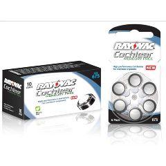 Rayovac Cochlear Mercury-Free Batteries 60/Box