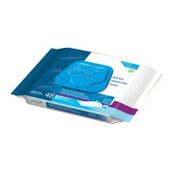 "TENA Bathing Wipe Washcloths - 8 x 12"" Soft Pack"