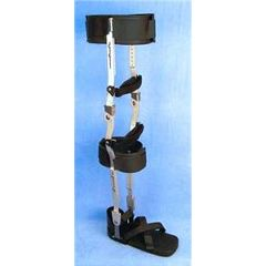 Adjustable AFO and KAFO Training Brace