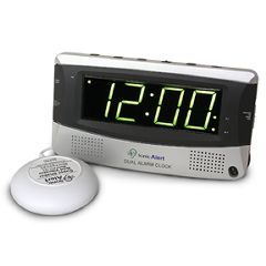 Sonic Boom Dual Alarm Clock With Bed Shaker