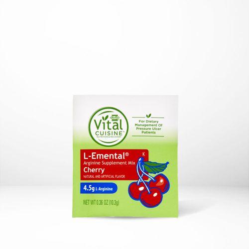 Hormel Vital Cuisine® L-Emental® Arginine Cherry Flavor Powdered Drink Mix Model 171 587180 01
