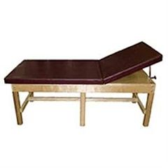 Bailey Manufacturing Bariatric Treatment Table W/Adj. Backrest & Shelf