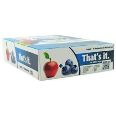 That's it Nutrition That's it Bar - Apple + Blueberry